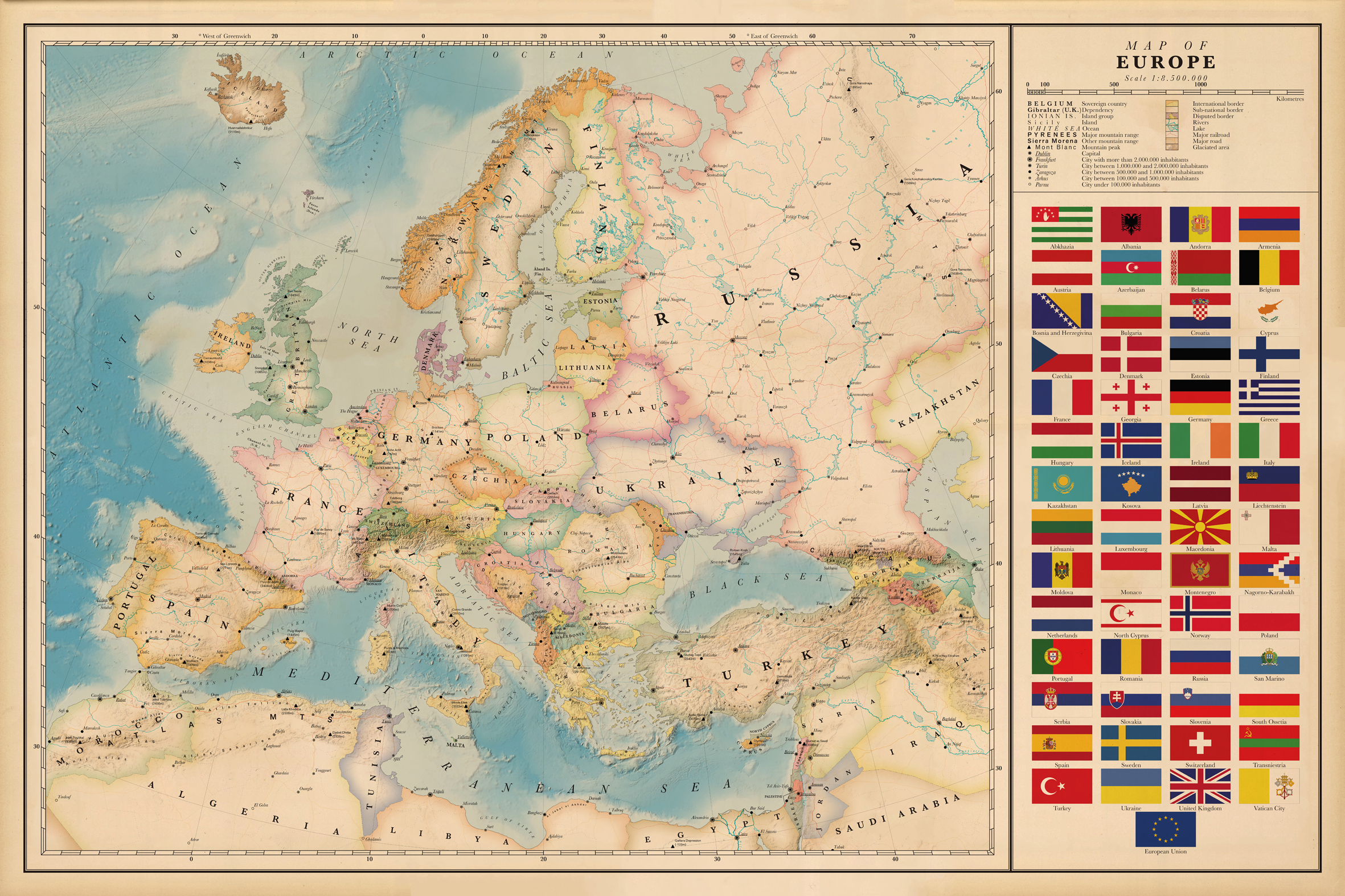 political map of europe with Gallery on A1 together with Lithuania as well Understanding The Bon s Rouges 1 further Geo Map Europe Denmark in addition Stock Image Eu Flag European Union Map Image36344251.
